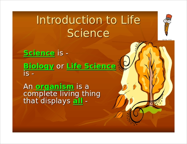 Life sciences ppt