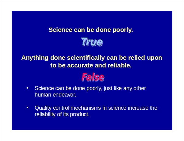 simple science powerpoint template