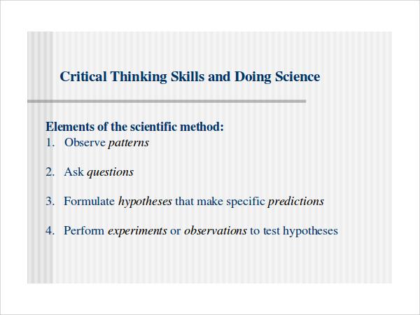 science presentation ppt