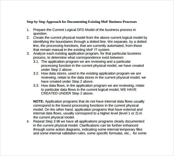 8 process manual templates to download sample templates business process manual template accmission