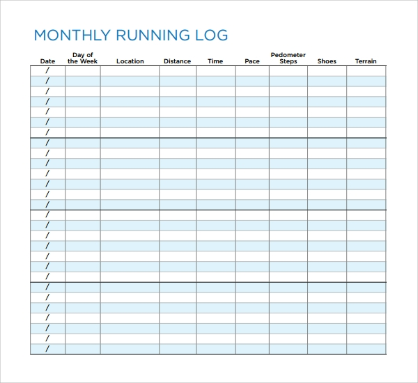 Running Log  BesikEightyCo
