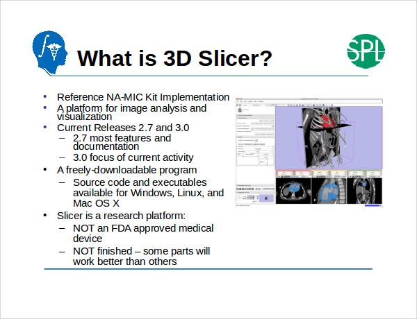 3d slicer powerpoint template