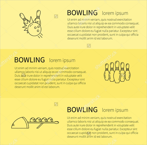 Bowling Flyer Template Deodeatts