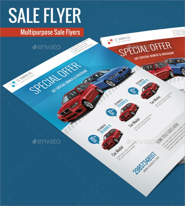 14 car for sale flyer templates sample templates. Black Bedroom Furniture Sets. Home Design Ideas