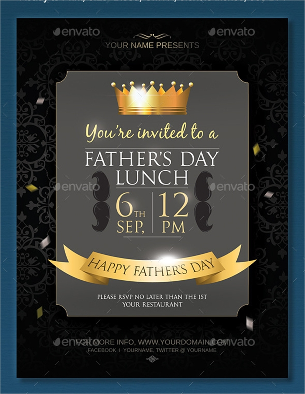 Lunch Flyer Template   Download In Vector Eps Psd