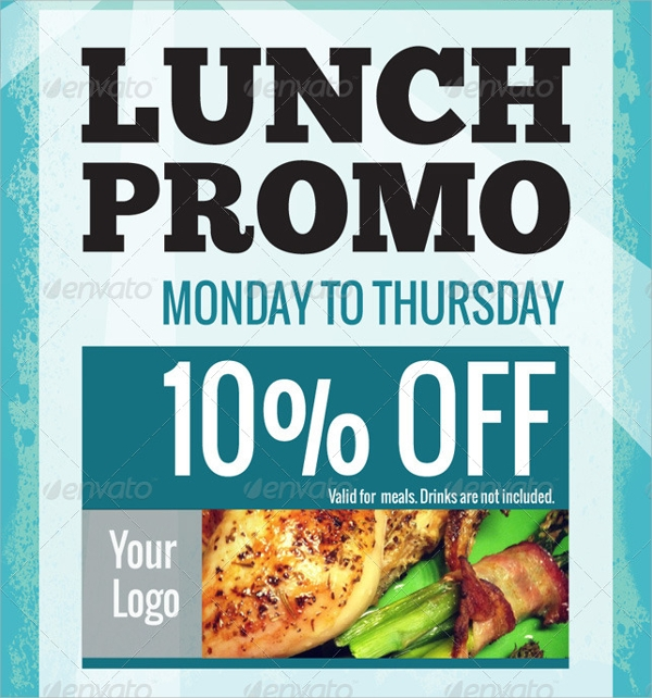 Lunch Flyer Template - 13+ Download In Vector Eps, Psd