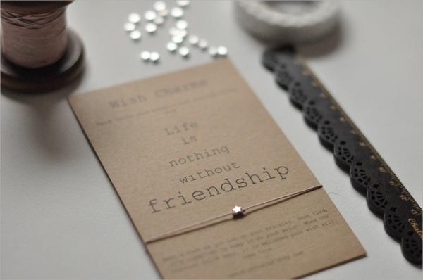 best friendship card