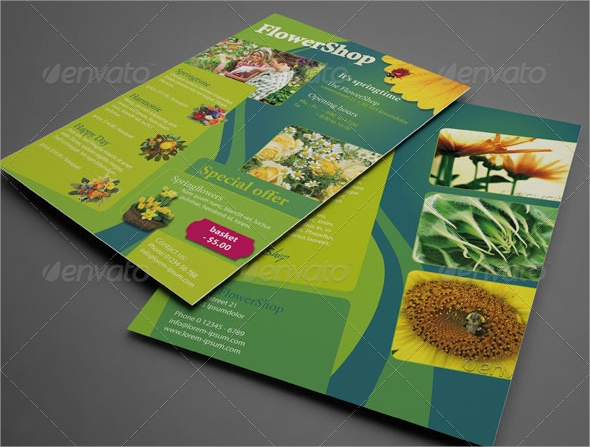 flexible advertising flyer template