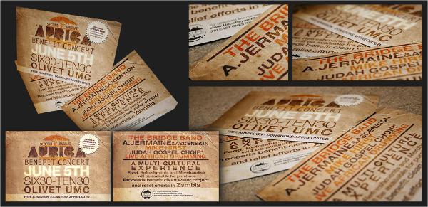benfit concert flyer