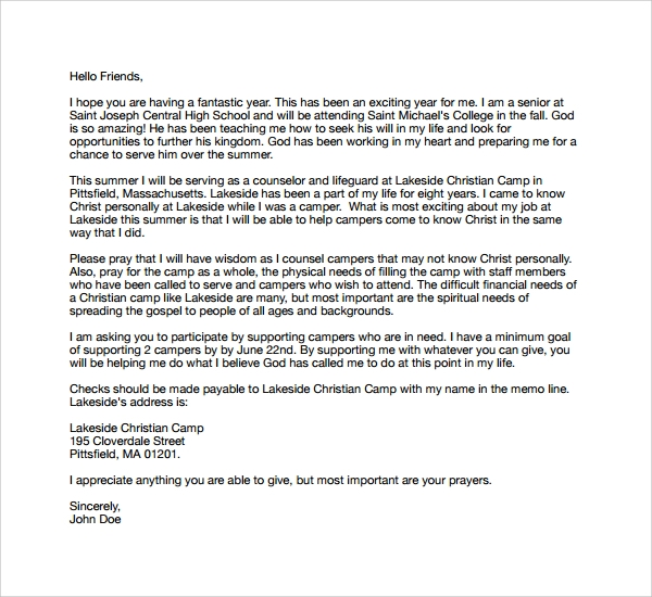 christian camp counselor cover letter - Youth Counselor Cover Letter