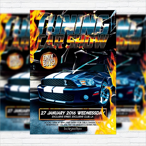 Car Show Flyer Templates Sample Templates - Car show flyer background