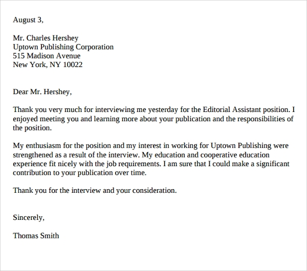 Publishing Cover Letter Example: Sample Editorial Assistant Cover Letters