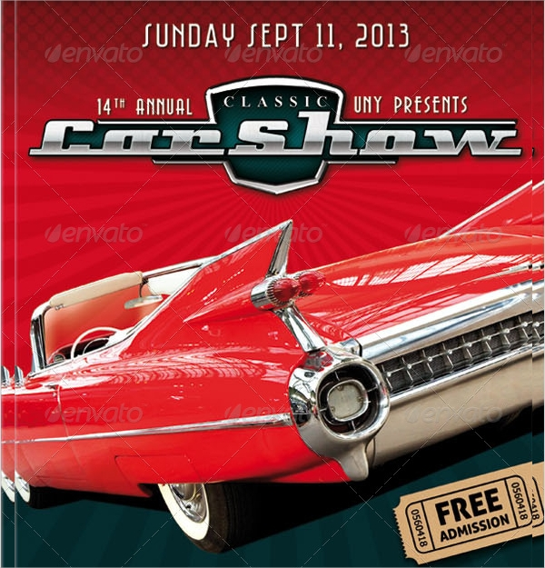 21 Car Show Flyer Templates Sample Templates