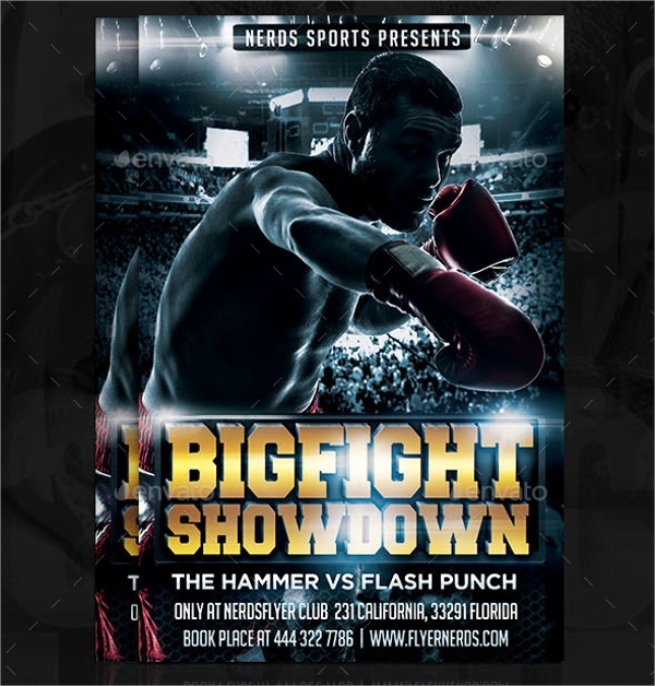 14+ Showdown Flyer Templates - Psd Format Download