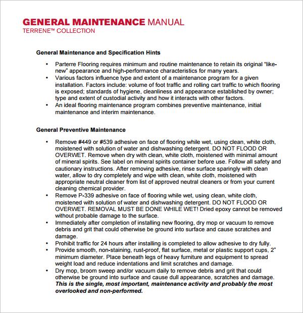 maintenance manual template rh endlesswebsite tk o&m manual template construction uk o&m manual template uk