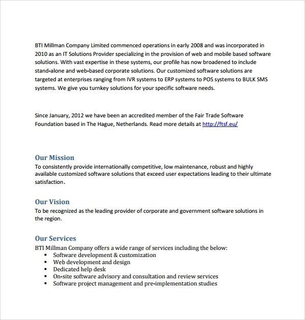 Sample Software Development Proposal Template - 6+ Free Documents ...