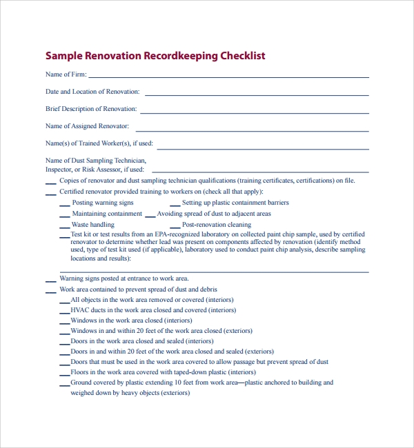 Featured Excel Templates 6+ Renovation Contract Templates U2026 You May Also  See Roofing Contract Template. U2026 We Offer Various Kinds Of Home Remodeling  Contract ...