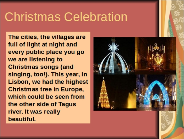 christmas celebration ppt%ef%bb%bf
