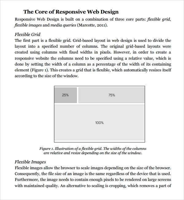 Sample Web Design Proposal Template   Free Documents In Pdf Word