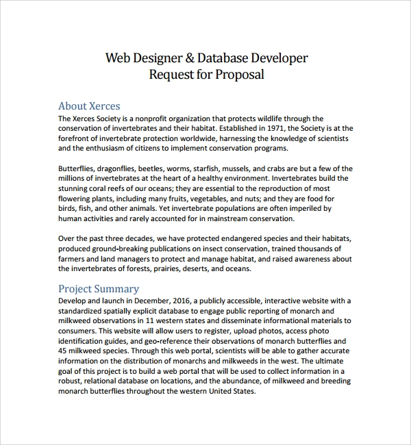 website design proposal samples