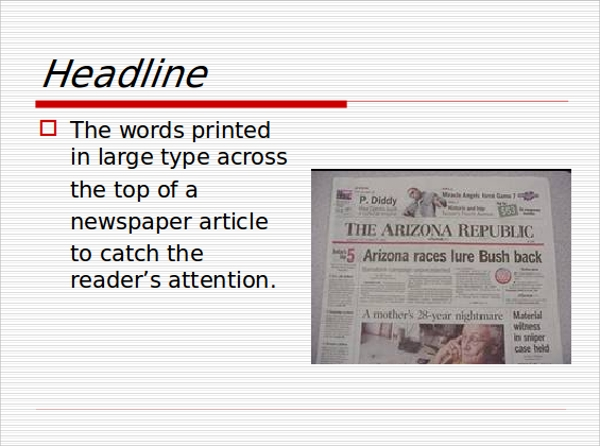 7 newspaper powerpoint templates sample templates newspaper headline powerpoint template toneelgroepblik Choice Image