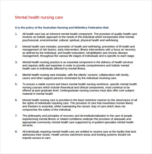mental health nursing care plan template%ef%bb%bf