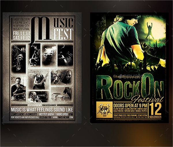22 band flyer templates ms word publisher apple pages