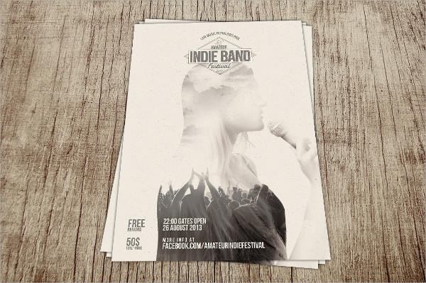 Free band poster templates online
