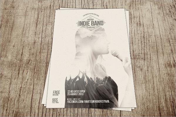 band festival flyer