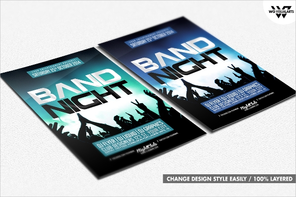 band concert flyer