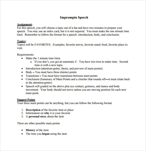 extemporaneous speech outline and speech with cosplay as topic essay Skip to content.