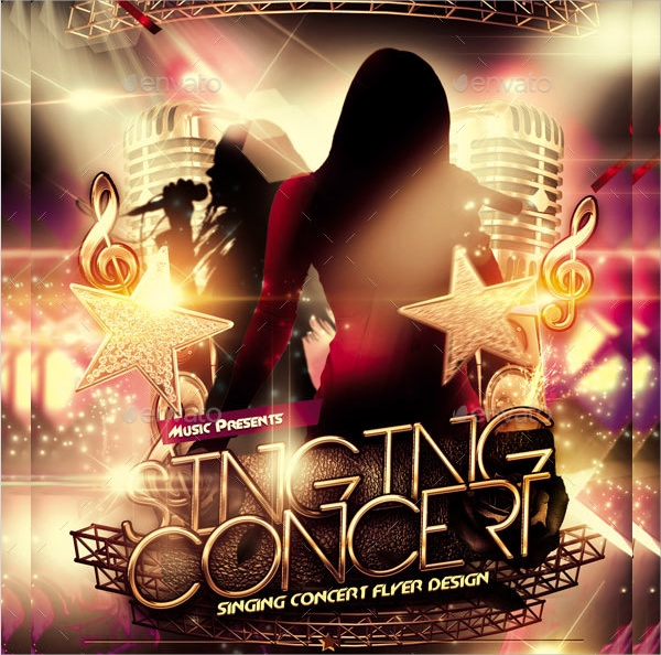 free 34  concert flyer templates in ms word
