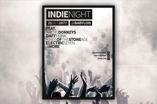 amazing concert flyer