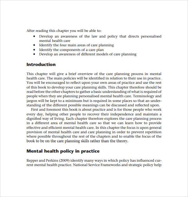 Health care business plan pdf