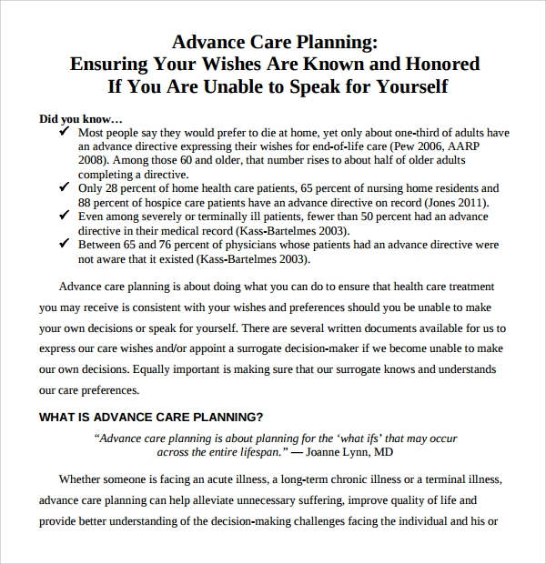 Sample Care Plan Template - 10+ Free Documents in PDF, Word