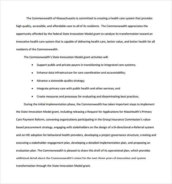 Sample Operational Plan Template   9  Free Documents in PDF Word hJ6Ngmrv