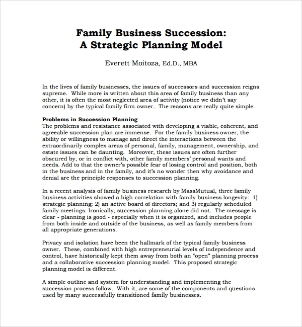 Succession Planning Templates Sample Templates - Board succession planning template