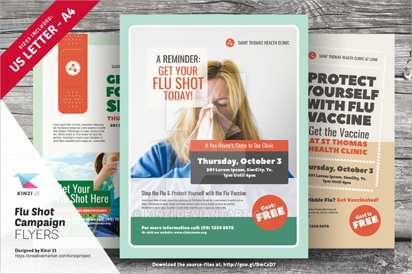 health campaign flyer template1