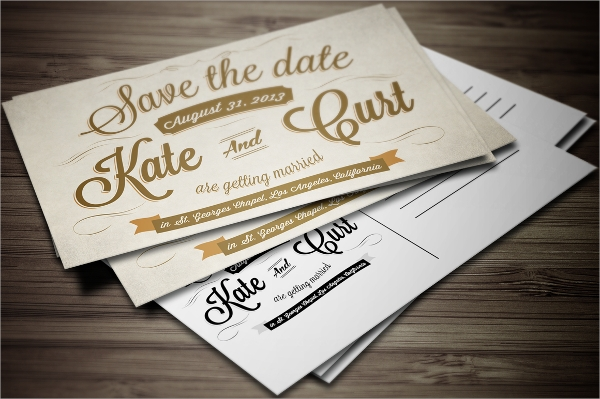 vintage postcard invitation template