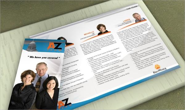 realtor brochure design