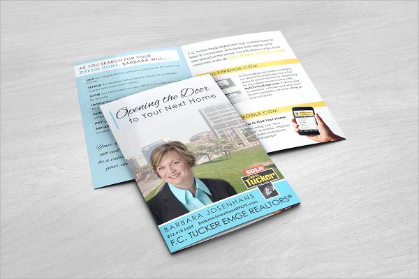 realtor branding brochure