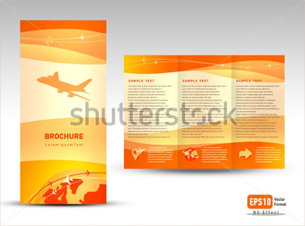 free sample brochure design templates - 14 vacation brochure templates sample templates