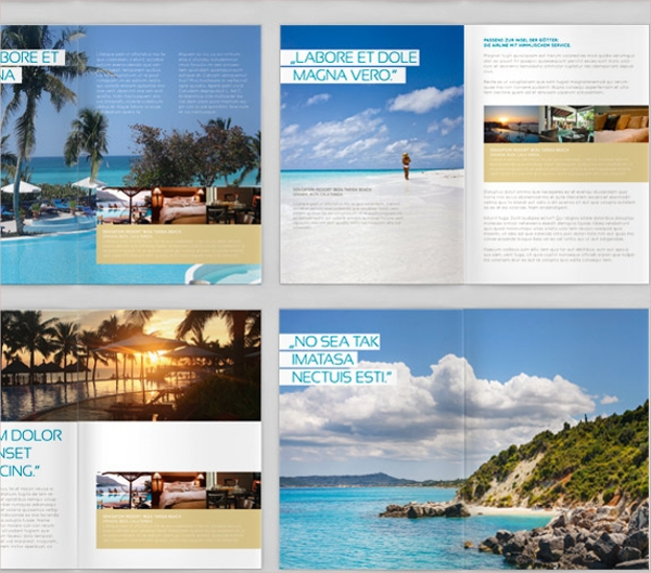 Vacation Brochure Templates Vosvetenet – Vacation Brochure Template