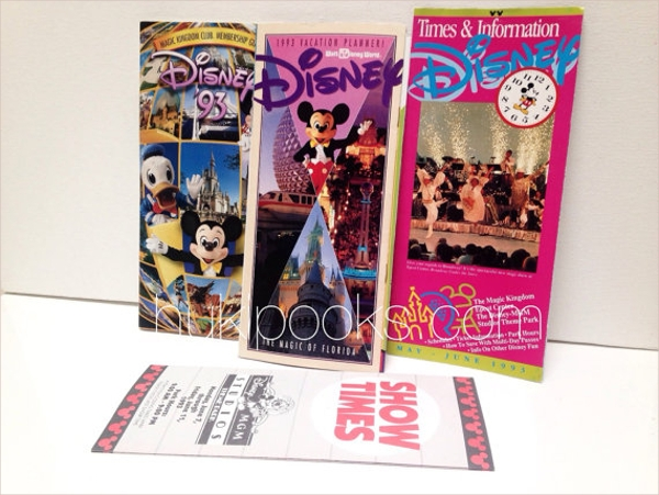 disney vacation brochure