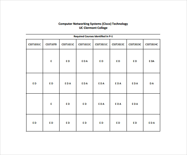 computer network assessment template