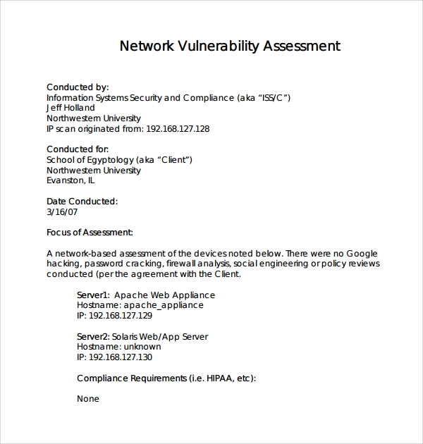 Network Risk Assessment Template U2013 There Are A Lot Of Affordable Templates  Out There, But It Can Be Easy To Feel Like A Lot Of The Best Cost A Amount  Of ...