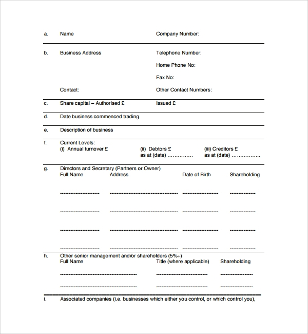 business plan proposal financial template