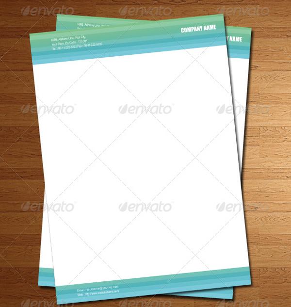 ai format company letterhead