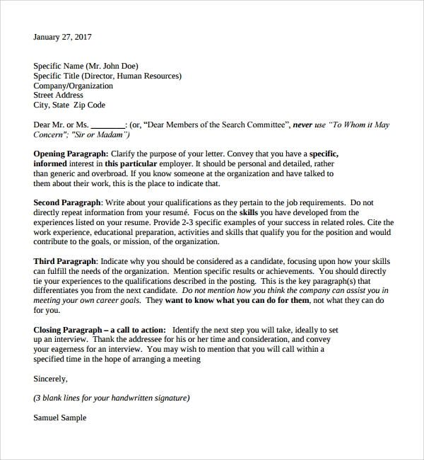 photography cover letter sample - Cover Letter For Photography