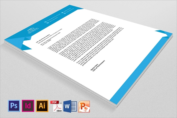 Sample Company Letterhead Template - 37+ Download In Psd, Ai
